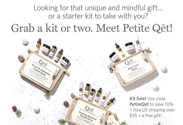 Meet Petite Qēt! Starter kits for Skincare, Hair, and Body.