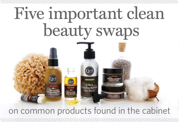 Qēt Botanicals clean beauty swaps