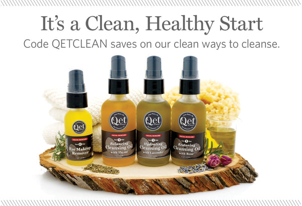 Qēt Botanicals clean healthy skin care
