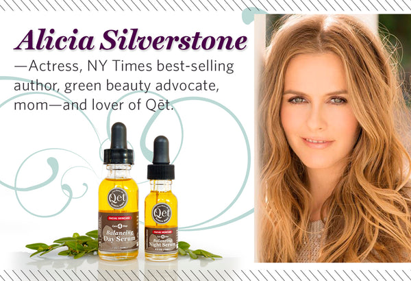 Qēt Botanicals feature Alicia Silverstone