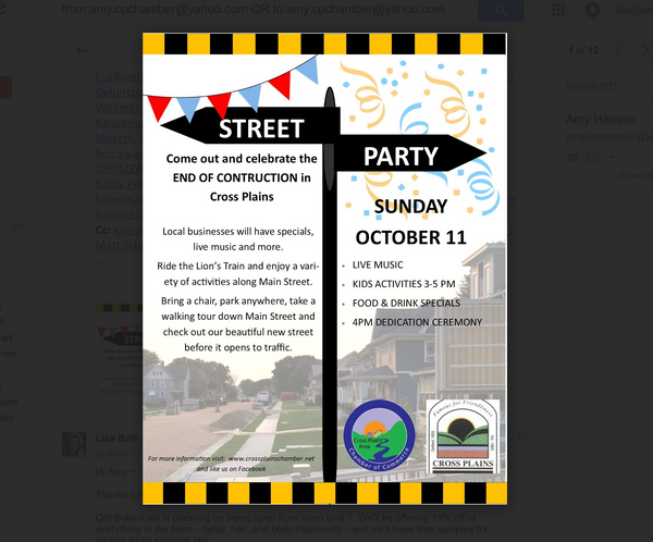 Qēt Botanicals street party and sale
