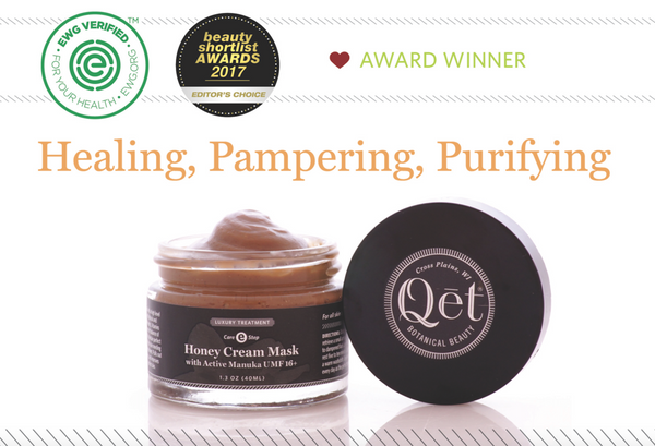 Qēt Botanicals won Editor's Choice Awards on Clean Beauty Blog