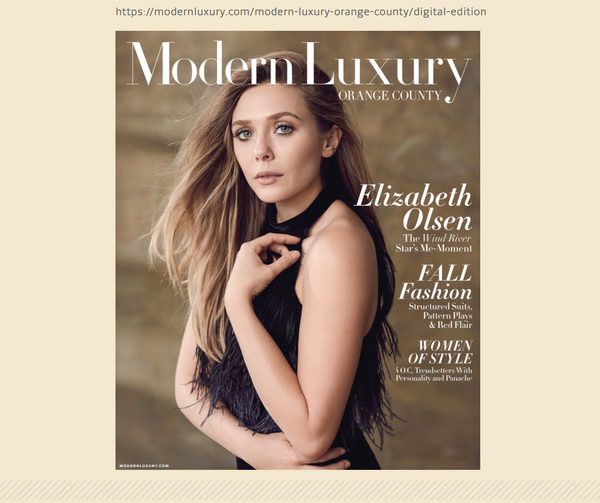 Qēt Botanicals feature Modern Luxury Magazine