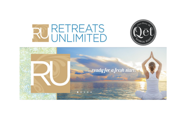 Qēt Botanicals became exclusive provider to Retreats Unlimited