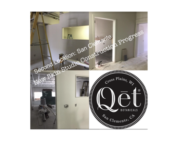 Qēt Botanicals 2nd skin studio & lab is opening soon