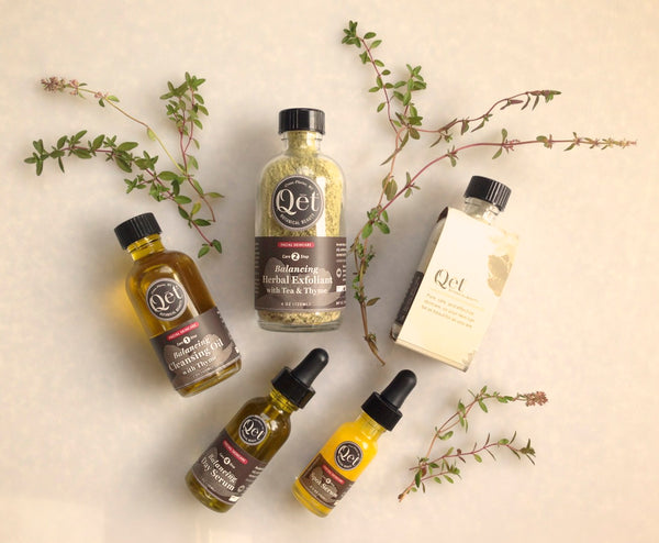 Qēt Botanicals Thyme skincare