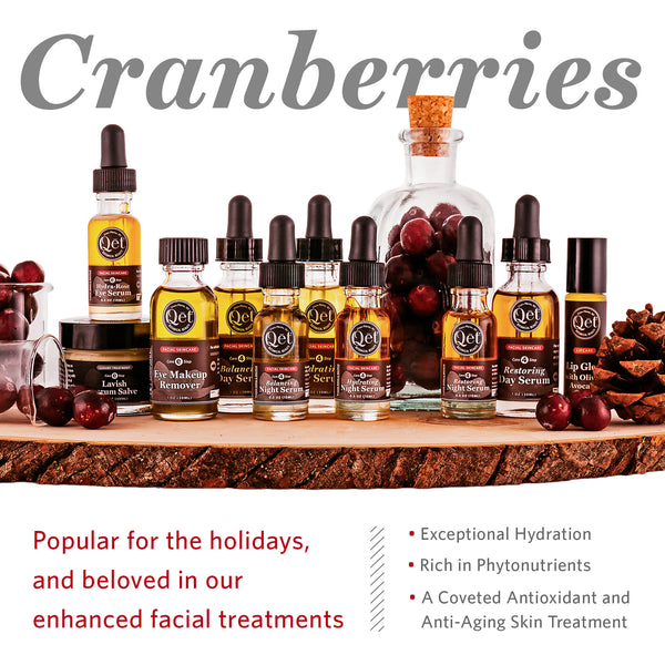 Qēt Botanicals cranberries seed oil