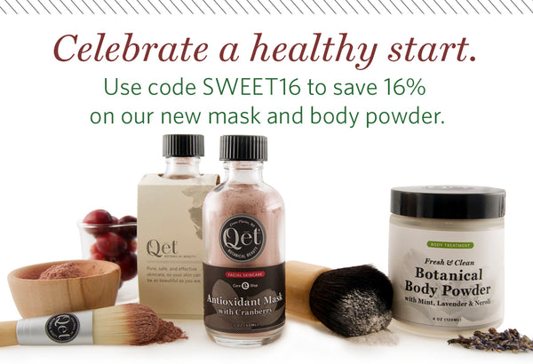 Qēt Botanicals clean olives beauty