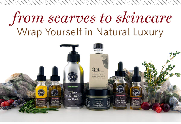 Qēt Botanicals natural luxury beauty brand