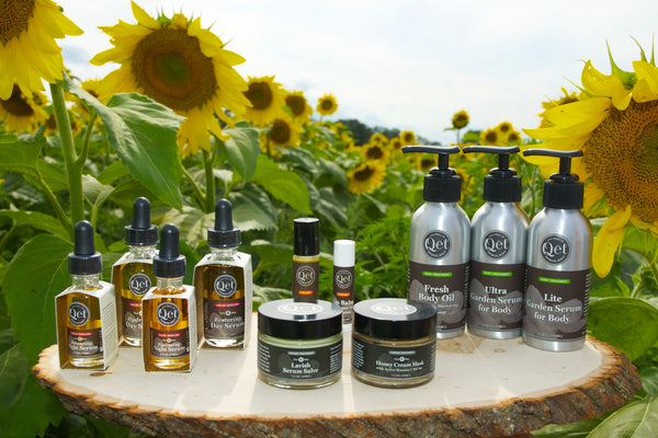 Qēt Botanicals sunflower seed oil and treatment