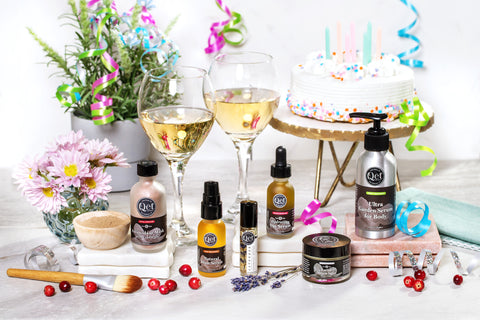 Qet Botanicals Seven Year Brandiversary Self-Care Sale