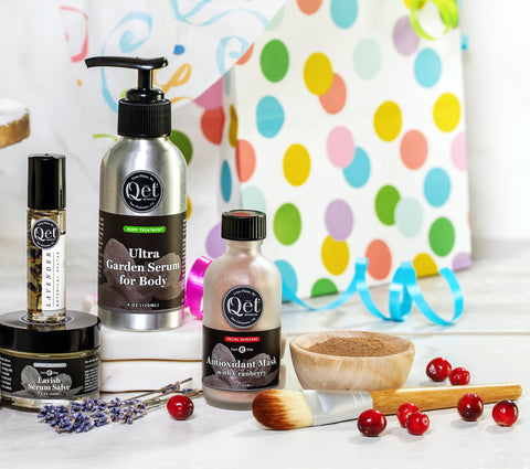 Qet Botanicals Celebration of Seven Years of Green Beauty
