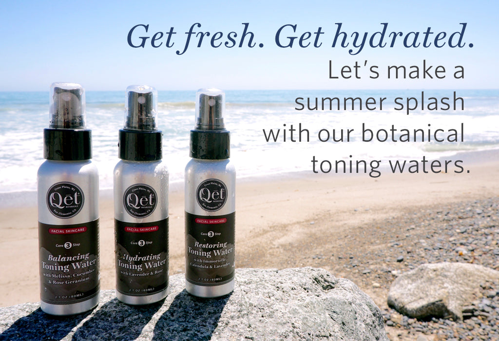 Qēt Botanicals hydrating toning water