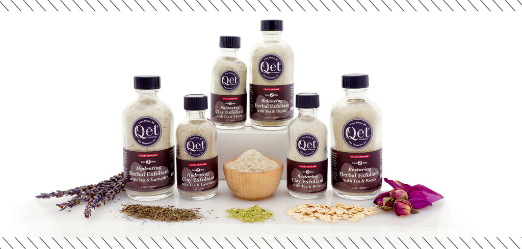 Qēt Botanicals hydration clay exfoliant