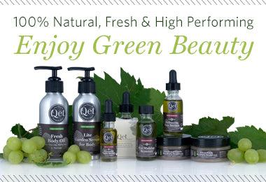 Qēt Botanicals green beauty brand