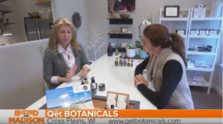 "Qēt Botanicals Lisa Brill on ""Buzzed into Madison"""