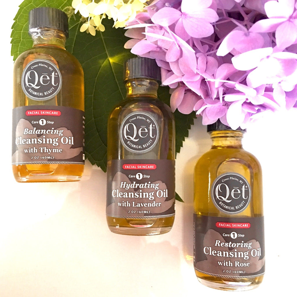 Qēt Botanicals cleansing oil