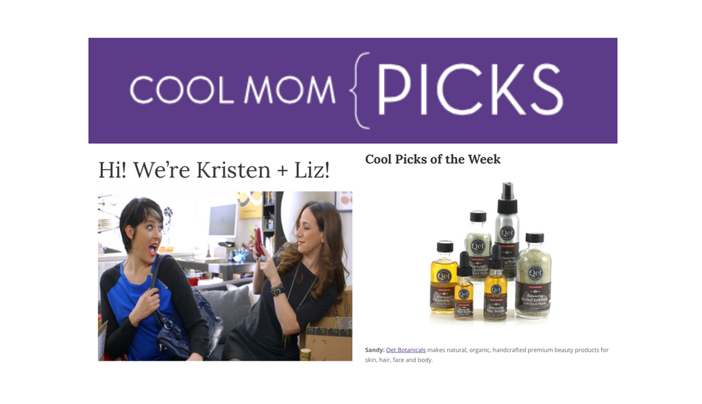 Qēt Botanicals cool mom picks
