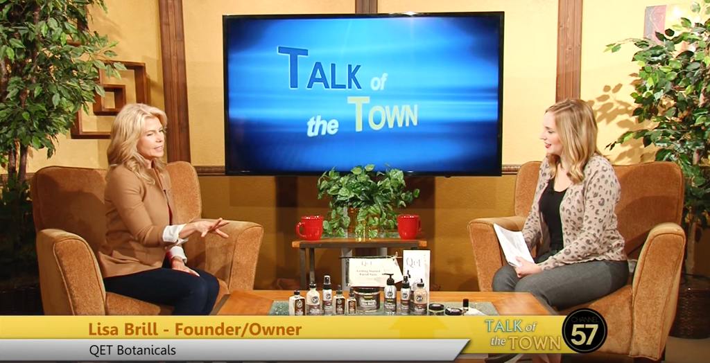 "Qēt Botanicals Lisa Brill on ""Talk of the Town"""