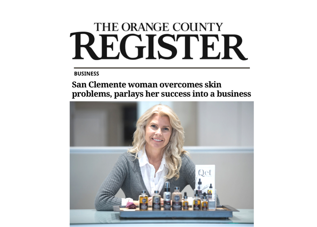 "Qēt Botanicals feature ""Orange County Register"""