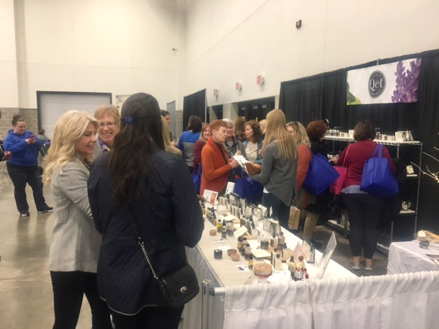 Qēt Botanicals Brava magazine 2017 Madison women's expo