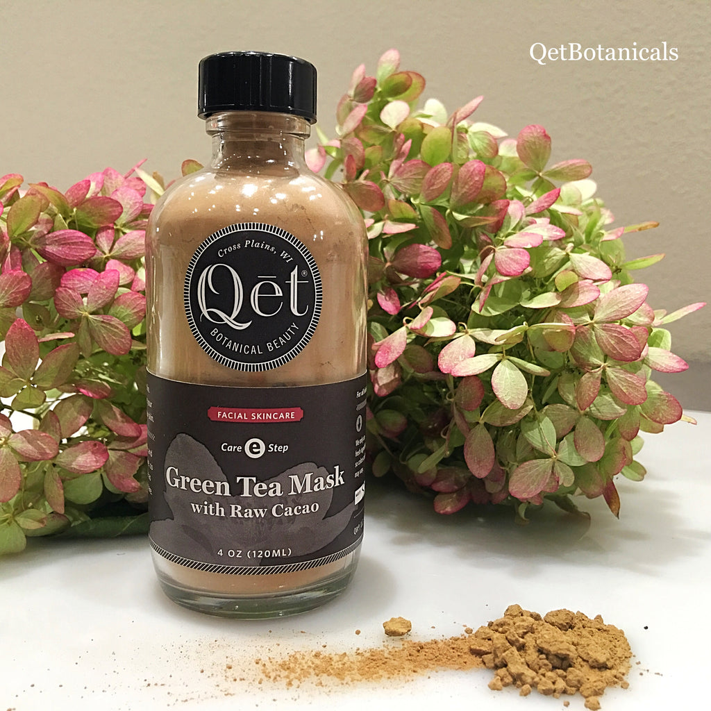 Qēt Botanicals autumn green tea mask
