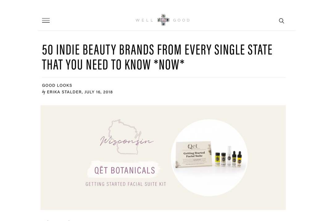 Qēt Botanicals clean beauty brands from USA