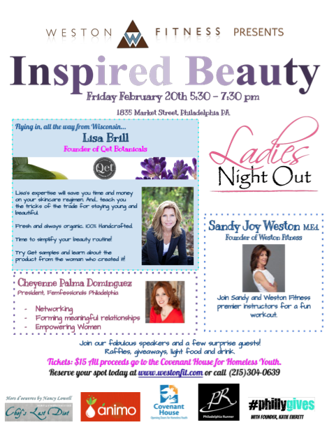 "Qēt Botanicals ""inspired beauty"" event"