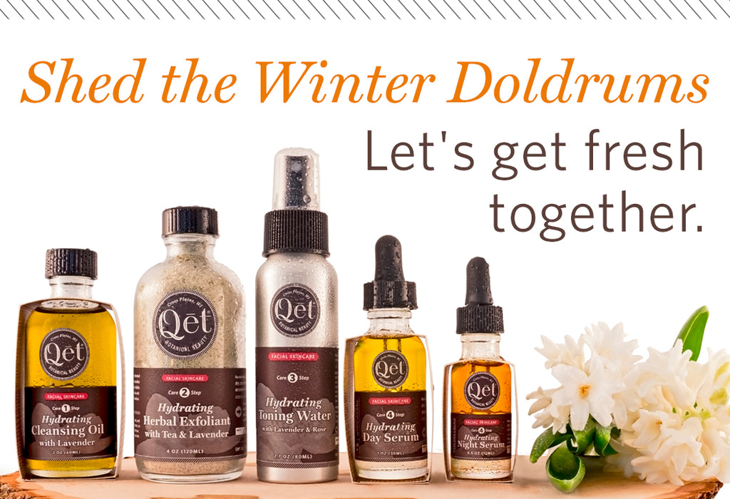 Qēt Botanicals winter doldrums