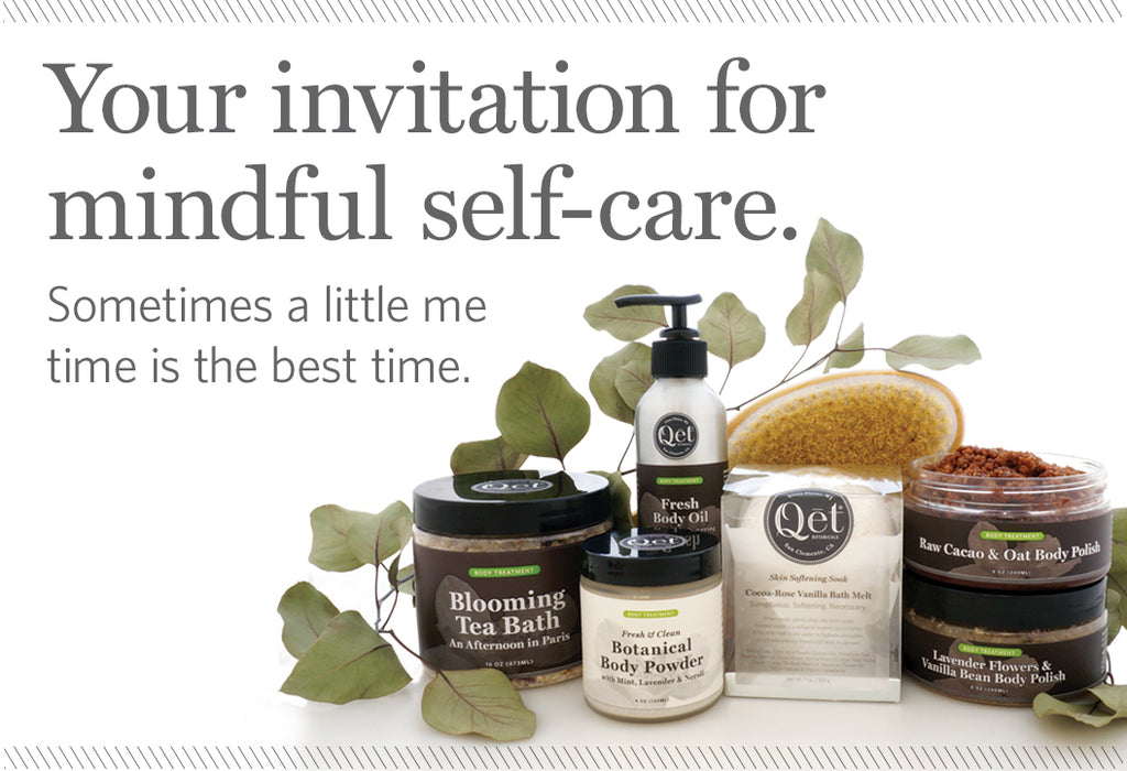 Qēt Botanicals self-care skin care