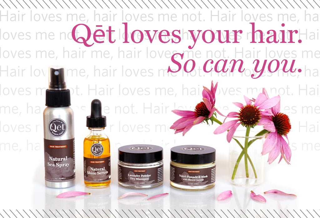 Qēt Botanicals natural hair treatment