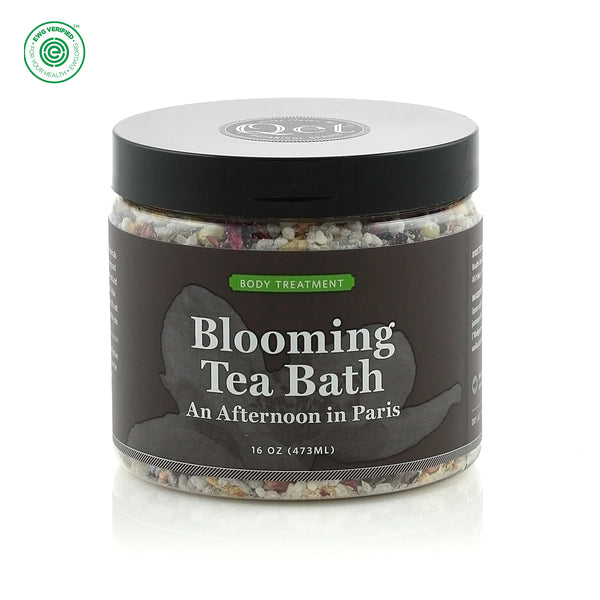 Qēt Botanicals | Blooming Tea Bath - An Afternoon in Paris