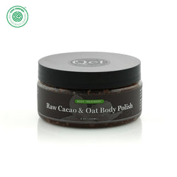 Qēt Botanicals| Raw Cacao & Oat Body Polish