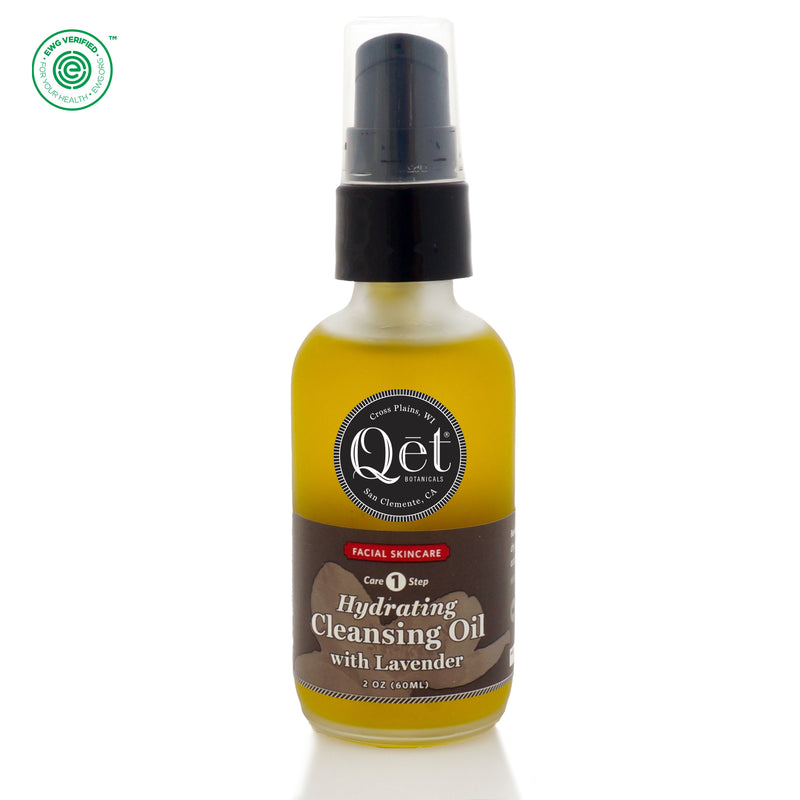 Qēt Botanicals | Hydrating Cleansing Oil with Lavender