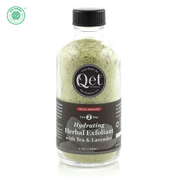 Qēt Botanicals | Hydrating Herbal Exfoliant with Tea & Lavender