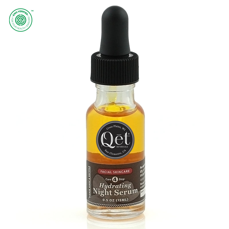Qēt Botanicals | Hydrating Night Serum
