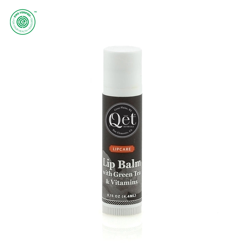 Qēt Botanicals | Lip Balm with Green Tea & Vitamins