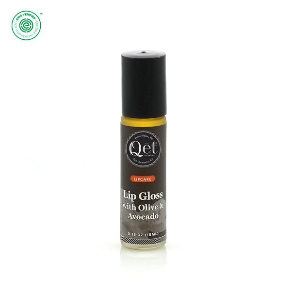 Qēt Botanicals | Lip Gloss with Olive & Avocado