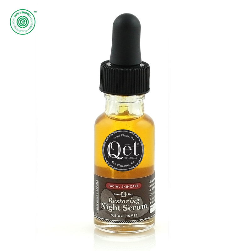 Qēt Botanicals| Restoring Night Serum