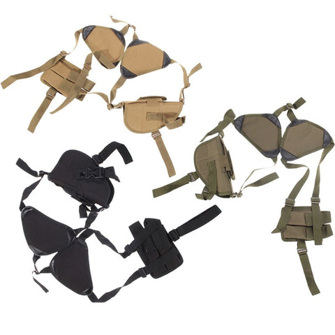 Tactical Shoulder Camouflage Bag Holster Pistol Armpit With Magazine Pouch Gun Holster Rig Gun Accessories Hunting Belt