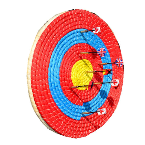Outdoor Sports Archery Straw Arrow Target Single Layer Bow Shooting Home Decor Lightweight Colorful Shooting Board Accessories