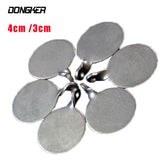 4cm 3cm Stainless Steel Shooting Target Metal Catapult Archery Sports Tactical Hunting Shoot Target Bullseye