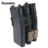 Tactical Rifle Gun Magazine Parallel Connector Black Mud Color with Wrench for Tactical Hunting Accessories