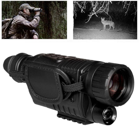 5x42 Magnification Multifunctional High-definition Night Vision Telescope Instrument Portable Infrared Hunting Camera Video