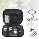 Pistol Gun Cleaning Kit Case 16 Piece Universal for .22 357 .38 Guns