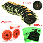 Self Adhesive Adhesive Target Stickers Hunting Shooting Bullsreye Splatter New