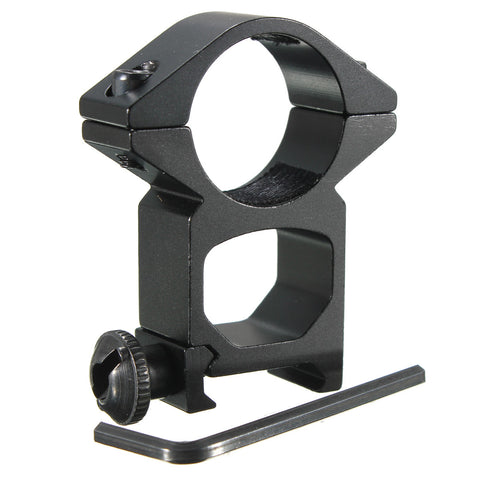 "Tactical High Profile 1"" Scope Ring Picatinny Weaver Rail Mount+Wrench For Torch"