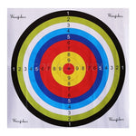 Paper Target For Arrow Bow Archery Shooting Hunting Practice Accessory Full Ring Fun