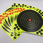 25 sticks per pack Splash flower target 8-inch adhesive Reactivity Shoot Target Aim for Gun / Rifle / Pistol Binders