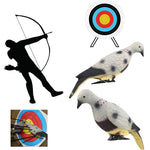 Arrow Puller Archery Bow Arrow 3D Animal Target Pigeon Bait Foam Target Empty Hollow Inside For Hunting Training Practice